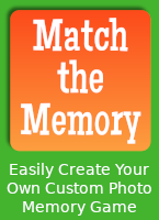 MatchTheMemory.com - easily create a one-of-a-kind matching game
