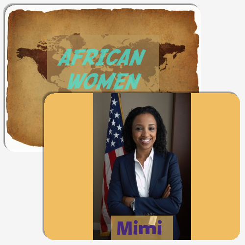 AFRICAN WOMEN IN POWER