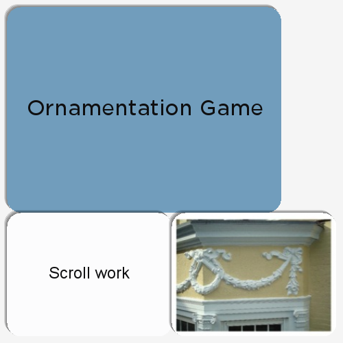 The Ornamentation Game