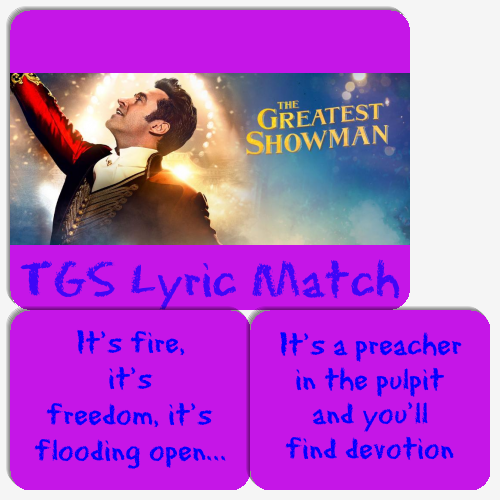 TGS Lyric Match Memory Game