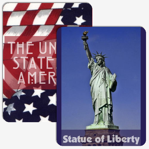 Symbols of the USA Memory Game