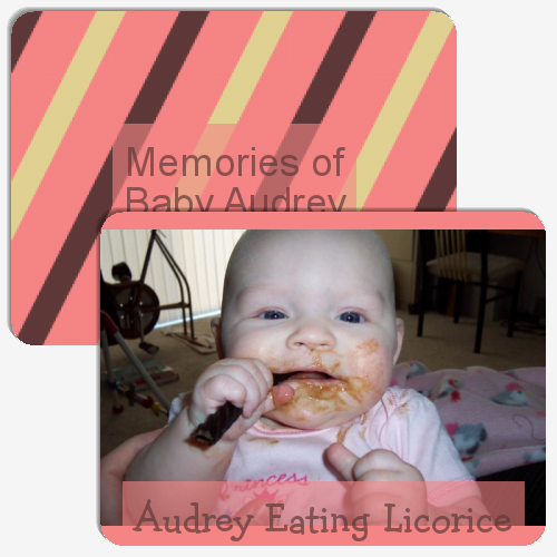 Memories of Baby Audrey