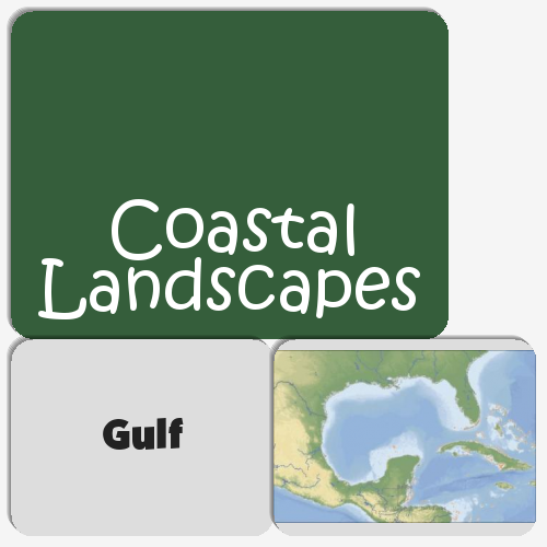 Coastal Landscapes Memory Game