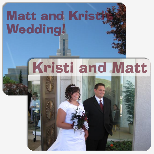 Matt and Kristi's Wedding