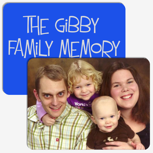 The Gibby Family Memory Game