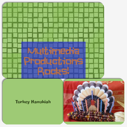 Thanksgivukkah Memory-Match Game